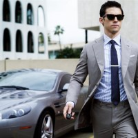 Cool guy in suit...