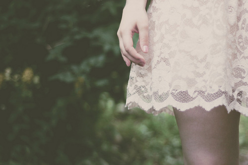 lace dress by linn bergström on Flickr.