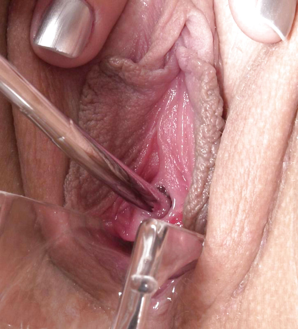 Peehole fucking with 4 sounds at once and long dildo in ass 5