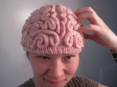 Hat That Looks Like A Brain