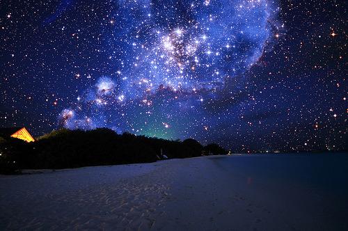 Maldevian Starry Sky (by Dominic Kamp)