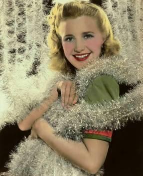 the-asphalt-jungle:</p><br /> <p>Priscilla Lane -Christmas 1940s<br /><br />
