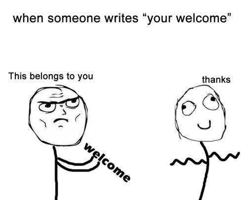 correct grammar please.<br /><br /> Follow the MemeMaster For more funny memes!
