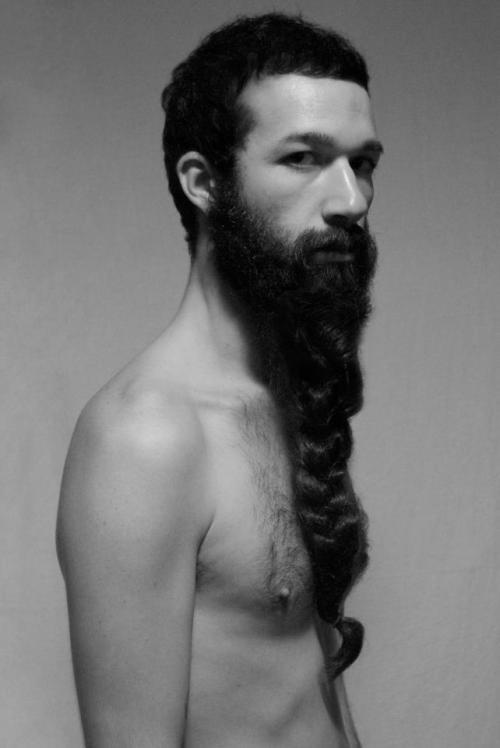 barbe tressée