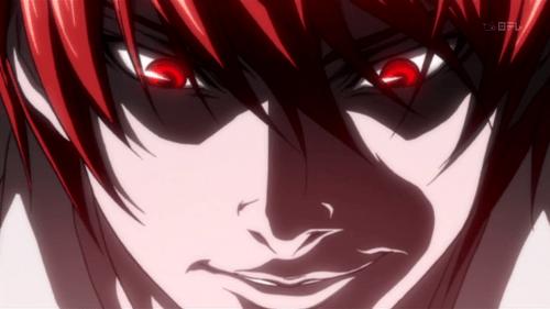 """""""Eu tenho o poder nas minhas mãos e a vontade no coração."""" - Light Yagami - Death Note"""