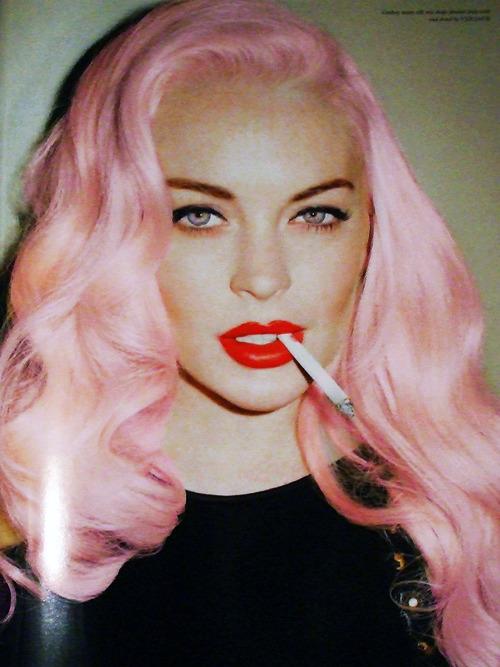 los illuminatis las prefieren mkultra con pelucas rosas y