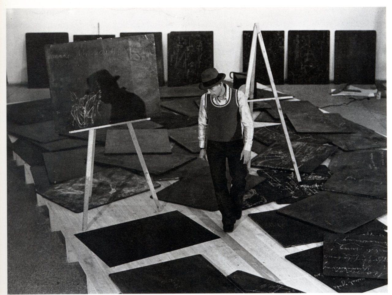 Joseph Beuys at documenta 5, 1972.