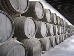Wine barrels forever.