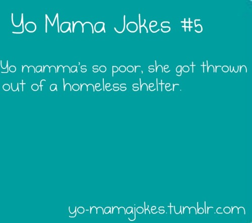 Funny Yo Mamma Jokes