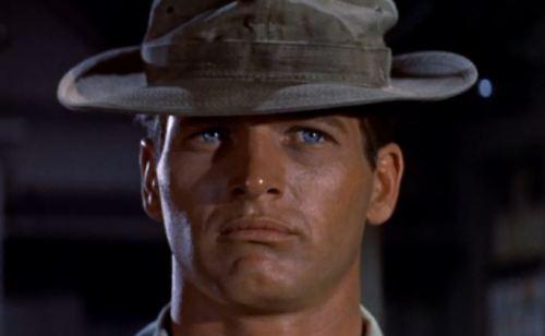 Paul Newman em O longo e quente verão (Martin Ritt, 1958)