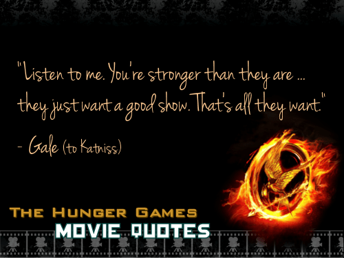 Image result for gale hunger games quotes