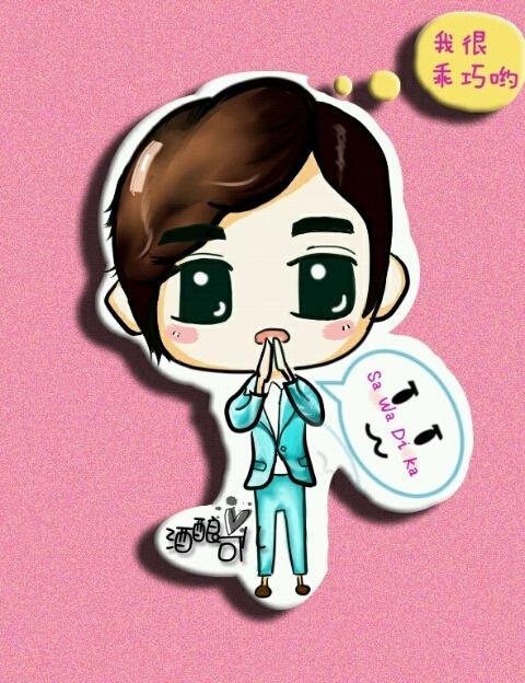 120407 MBC KMW in BangKok 2012 Changmin Fanart<br /> cr…changminbar?