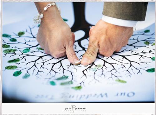 ゲスト参加で結婚式の手作りウェルカムボード