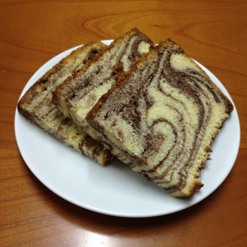 Marble cake (Taken with instagram)