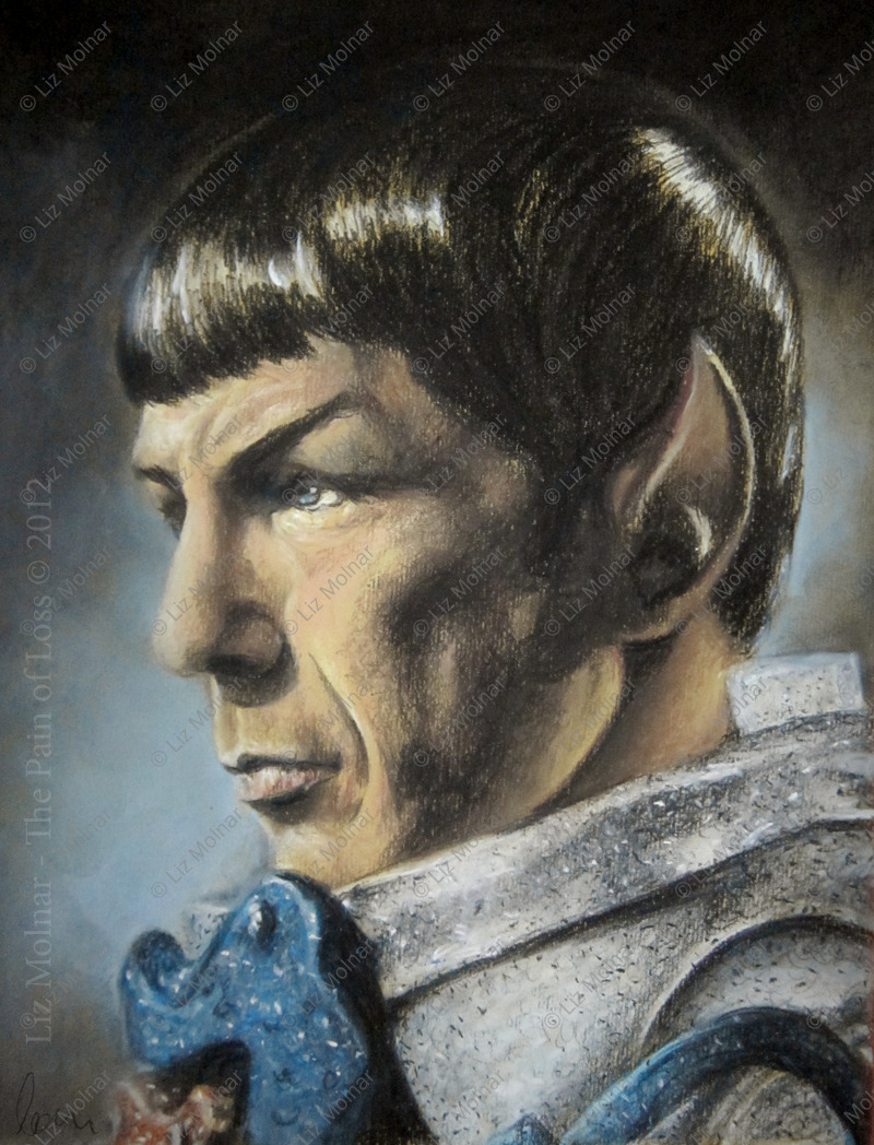 Spock - The Pain of Loss color print