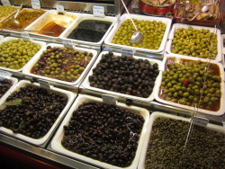 They do love their olives here in Spain!