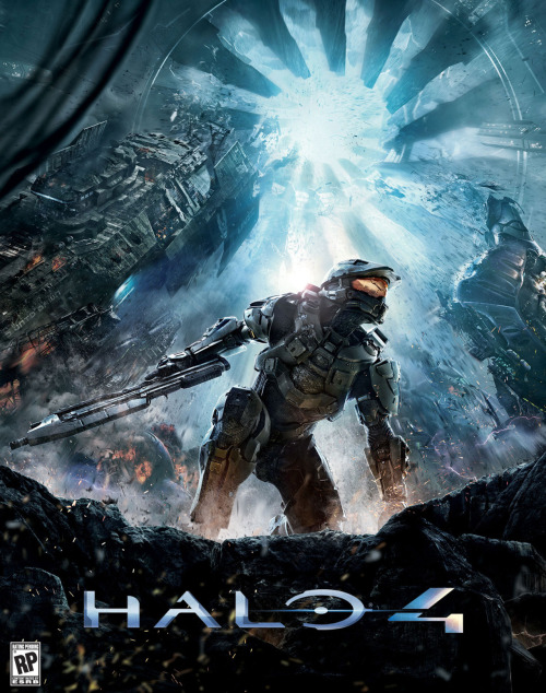 "Halo fans solve puzzle, reveal the official Halo 4 box art Members of the Halo Waypoint Forums were emailed 32 pieces of the Halo 4 box art, which they had to put together. When they did… voila! This is the official box art for the next Halo game. The game is set four years after the events of Halo 3. ""Master Chief returns to confront his destiny and face an ancient evil that threatens the fate of the entire universe."" Via"