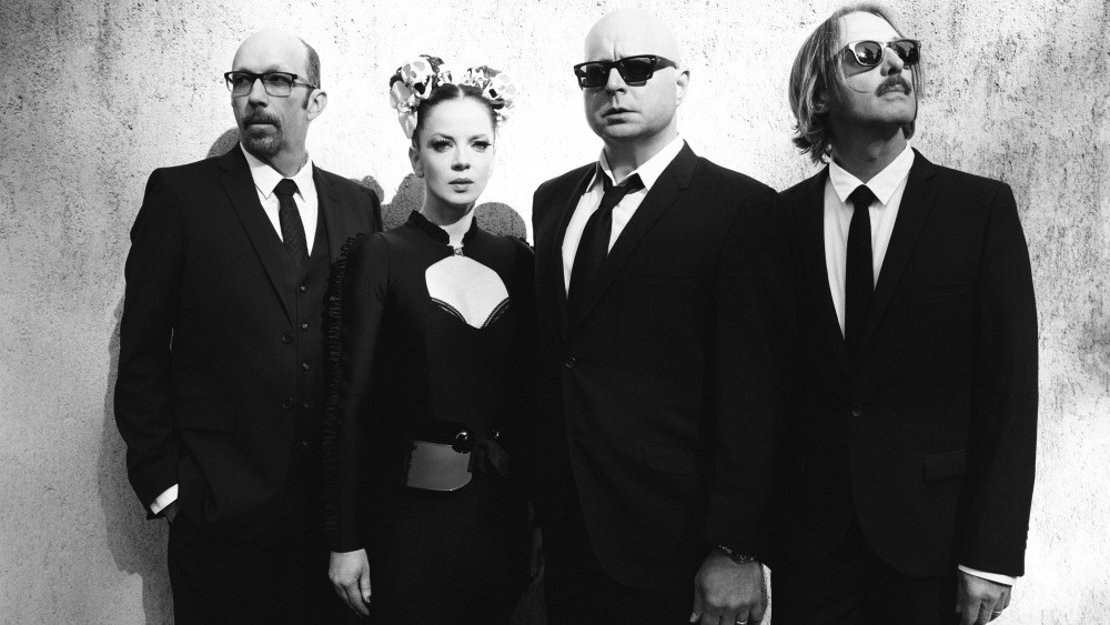 """nprmusic:  """"I wanted to make loud, guitar-driven rock again,"""" says Garbage lead singer Shirley Manson, on the band's reunion."""