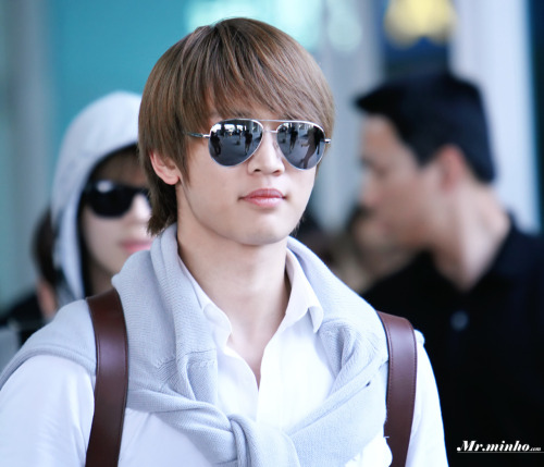 Handsome Minho arrival @ Incheon Airport from LA 120522#2  Click image in new tab for full size Credit: MrMinho Handsome Minho arrival @ Incheon Airport from LA 120522http://tmblr.co/ZGt9AyLxRIRK