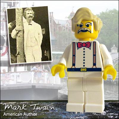 Lego Mark Twain