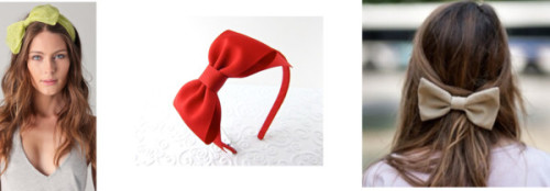Bow Trend #2 by thehautebunny featuring hair bow accessoriesEugenia Kim hair bow accessory, $62Hair bow accessory, $16