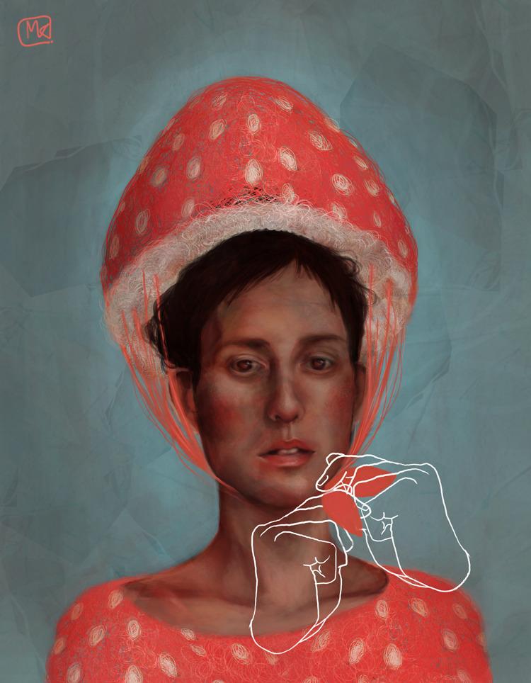 pink bonnet by ~gdak