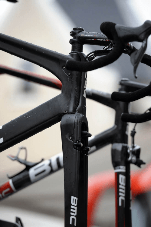 Prototype BMC. Integrated brakes, front and rear. Setting the new standard.