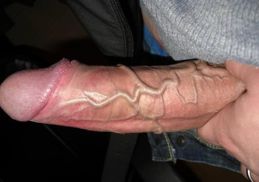 Veiny black cock