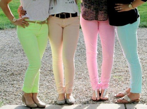 Spring Fashion Series: Pastel Pants