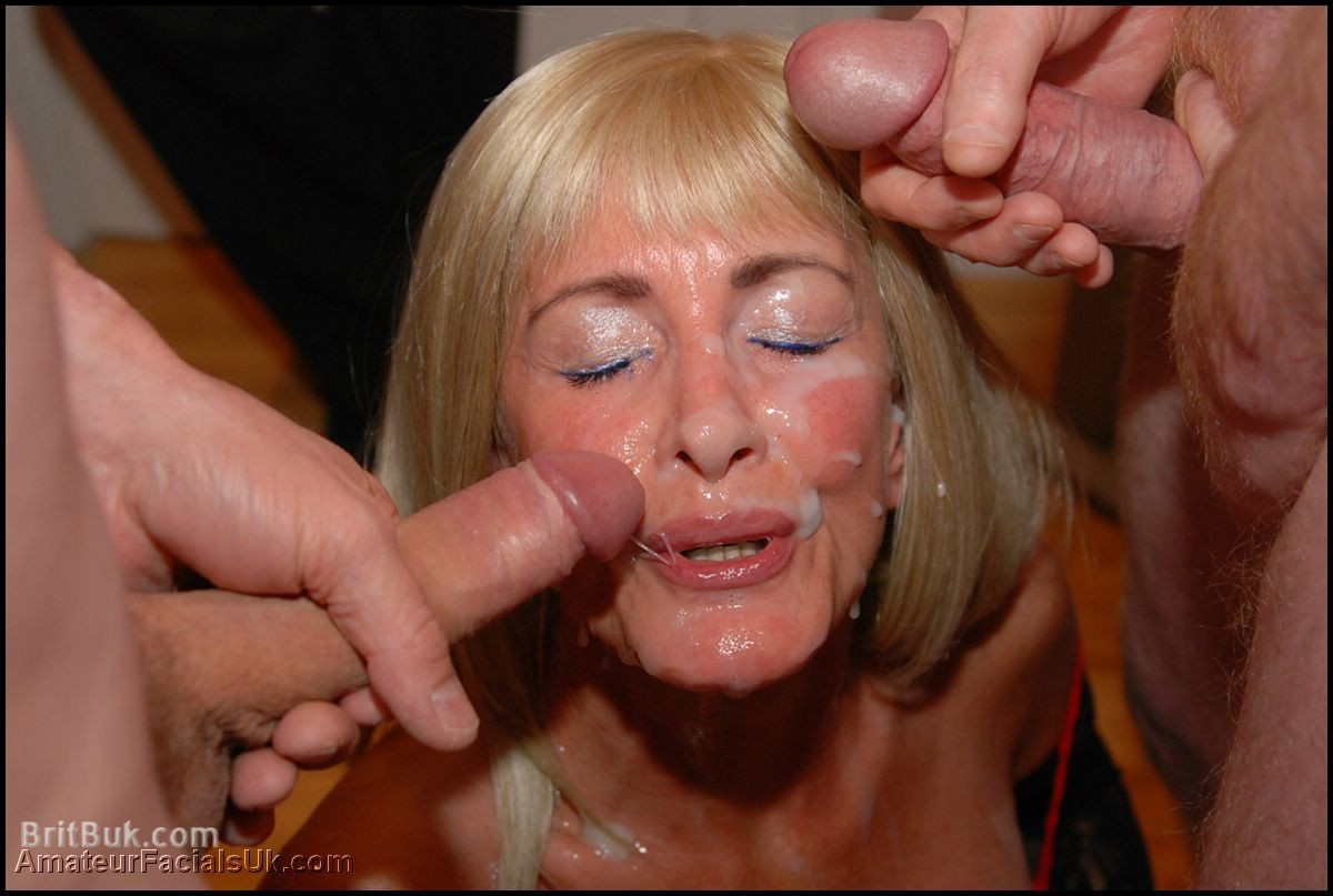 cum on old lady