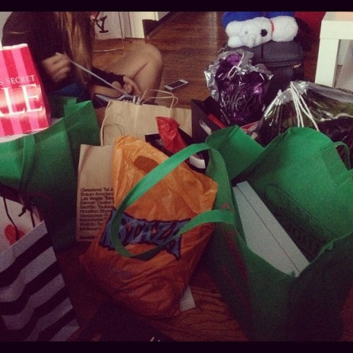 Day 2 shopping damage between 2 girls (Taken with Instagram at 10th Avenue)