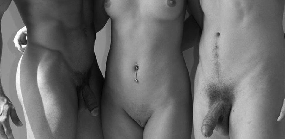 erotic sketches threesome
