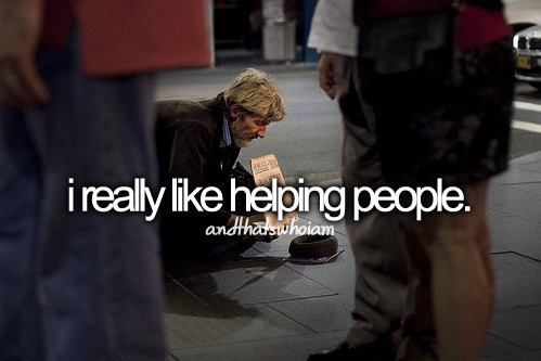 helping people