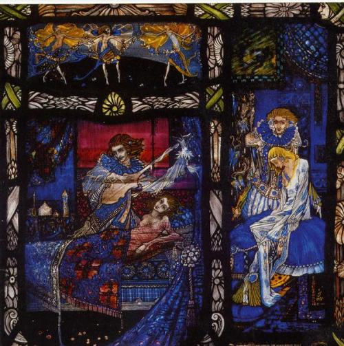 """""""The Eve of St. Agnes,"""" by Harry Clarke!"""