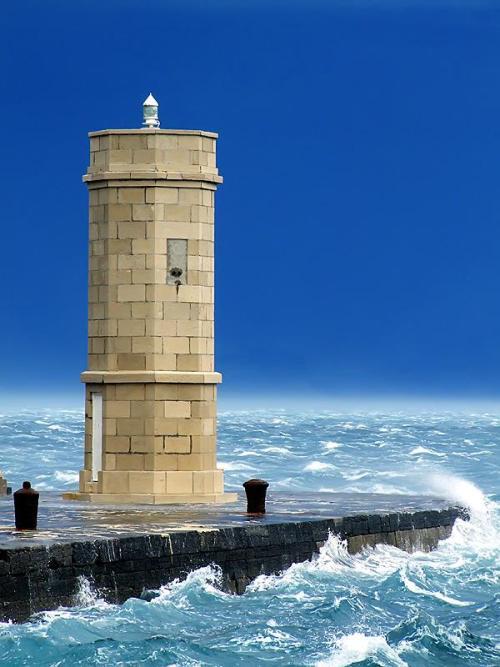 rwa42:  The lighthouse, The town Senj, Croatia