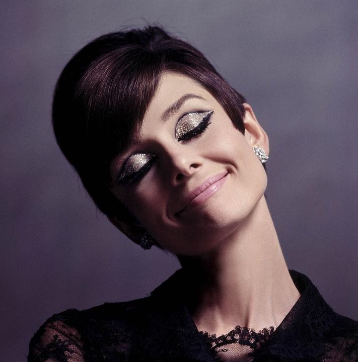 AUdrey Hepburn 1960s sixties makeup