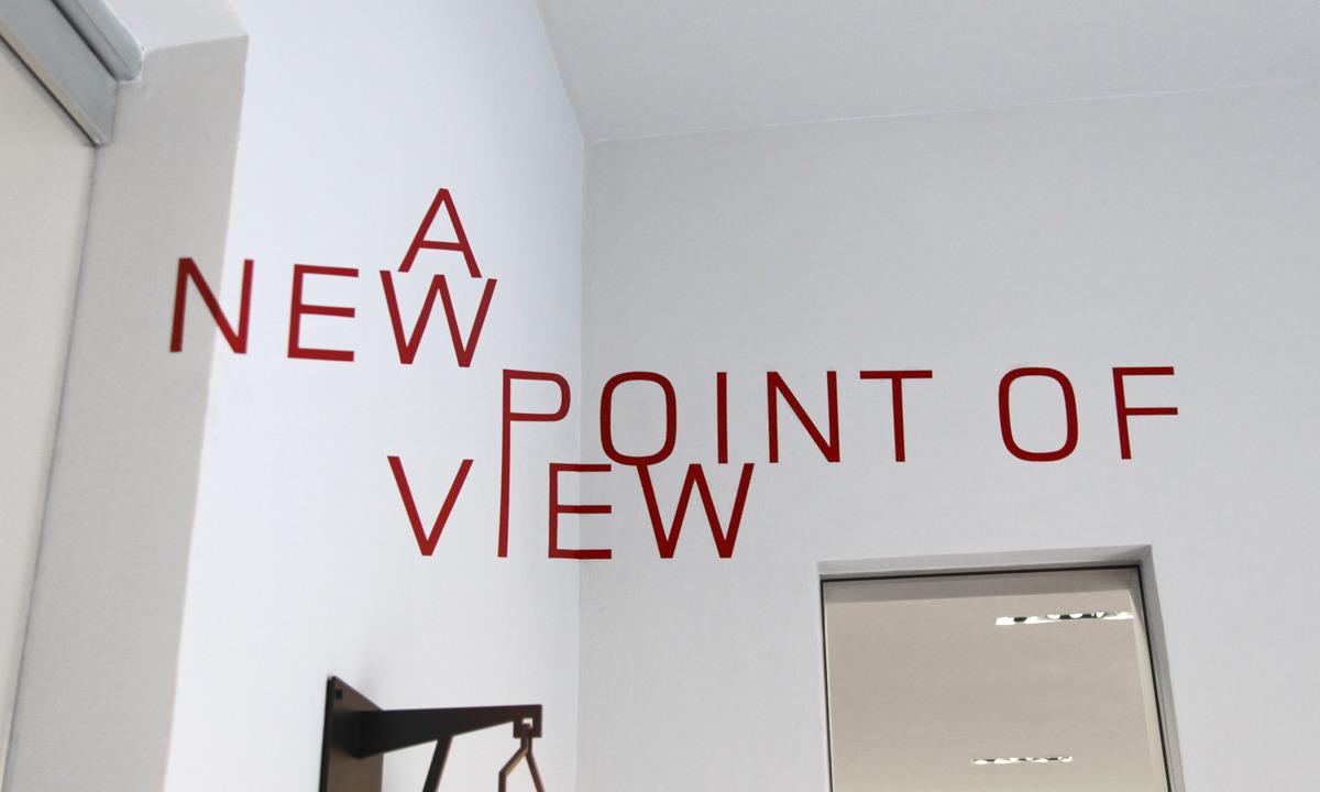 *Thomas Quinn的錯視平面字體:Anamorphic Typography 2