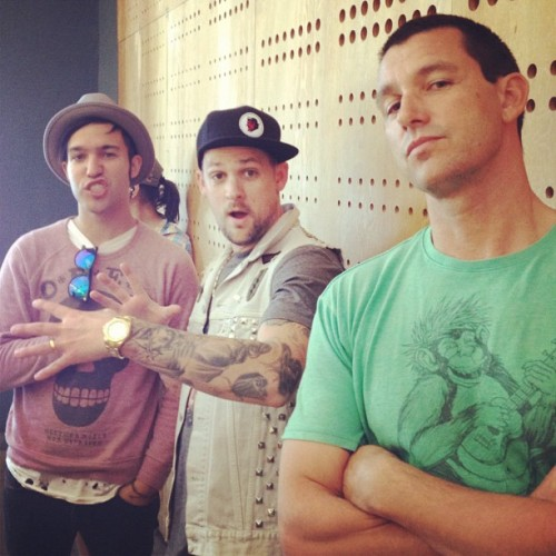 Bro-down w/Deano @joelmadden @petewentz at Chipotle  (Taken with Instagram)