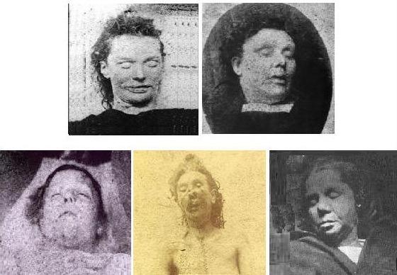 Vítimas de Jack, o estripador.