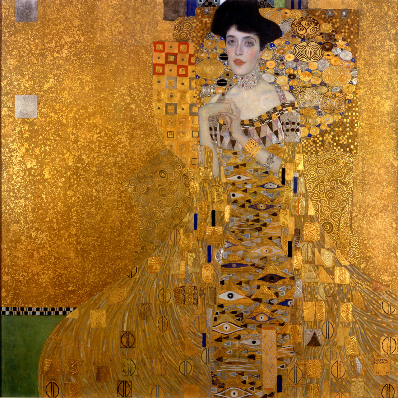 """Klimt's Scientific Influence While I was reading about the influence of golden-age Vienna on modern medicine and painters like Gustav Klimt, I discovered that Klimt's trademark patterns (the """"blobs"""" and orbs you see above, from Portrait of Adele Bloch-Bauer I) were influenced by early studies of cells under the microscope. Carl von Rokitansky founded the Second Vienna School of Medicine and eventually befriended Klimt. Rokitansky was a huge influence in the early days of modern science-based medicine, and allowed Klimt to view some of the tissue and bacterial slides from the medical school. It's a fascinating story, check out more in this interview between Eric Kandel and Jonah Lehrer. We can talk at length about the similarities of science and art, but this is one of the finest examples of where each feeds from the other. To quote Eric Kandel again, in a note to paste on your wall:  """"…[artists]have insight into the human mind that often precedes the insight that scientists have, because scientists need to design experiments, and then carry them out in order to do it. They cannot do it by intuition, alone, as can writers and painters."""""""