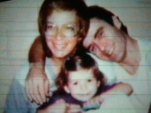 Carol, Ted e sua filha.