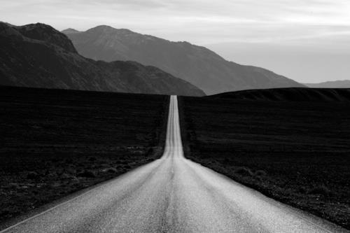 Open Desert Road