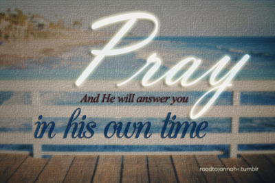 islamic-quotes:</p> <p>He will answer<br />