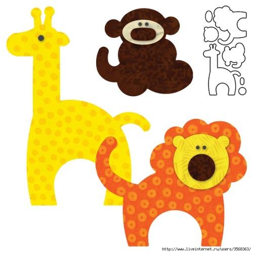 Giraffe Applique Quilt Pattern