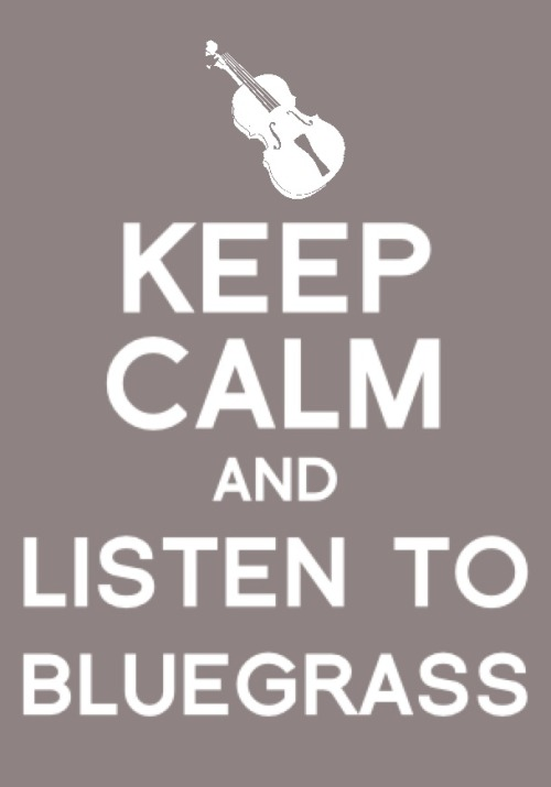 listen to bluegrass