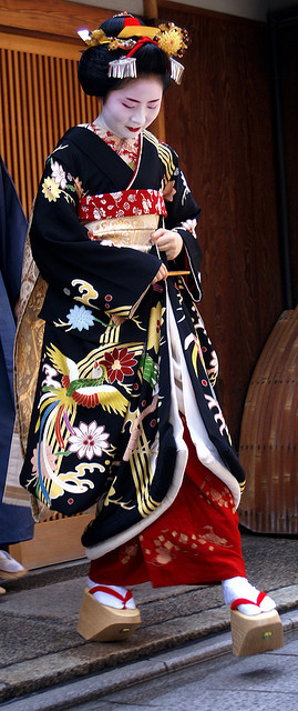 misedashi of maiko Marie she quit very soon after her debut