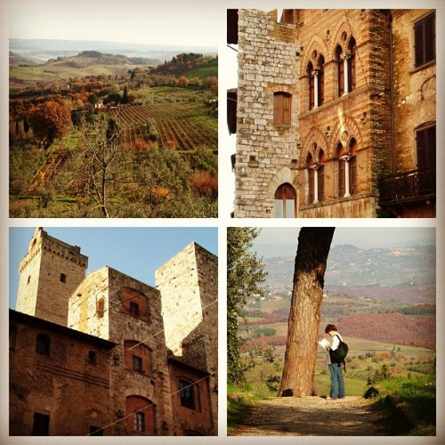 tuscan hill towns, travel in italy