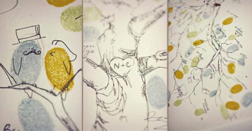 Fingerprint Tree – Perfect Alternative to a Wedding Guest book