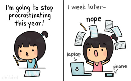 how to stop procrastinating on homework