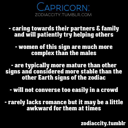 Zodiac Capricorn Tumblr